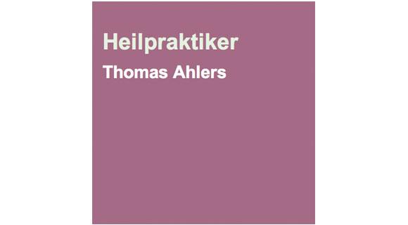 Heilraum Thomas Ahlers